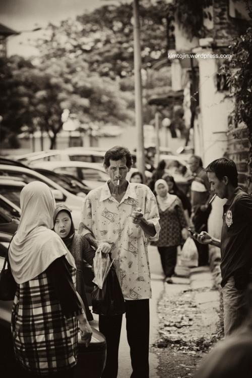 streets of Kuching